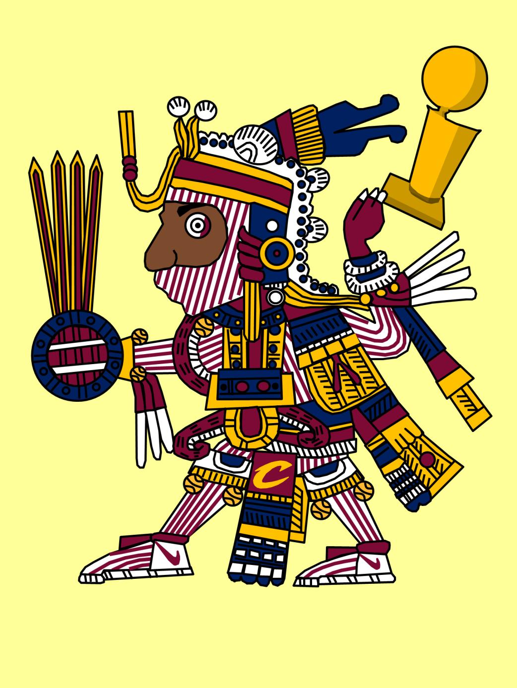 Aztec Triple Double - LeBron